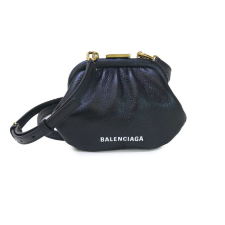 【送料無料】BALENCIAGA ポーチ CLOUD COIN SHOULDER STRAP 618915